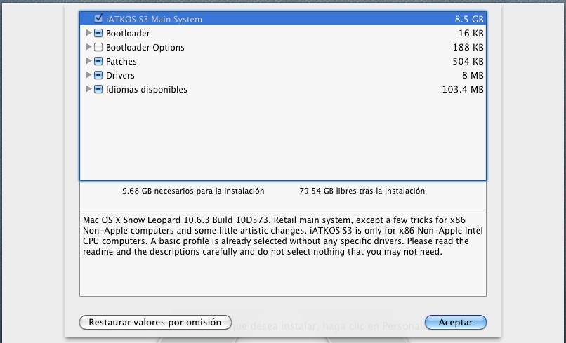 iniciar mac dual sistema operativo: