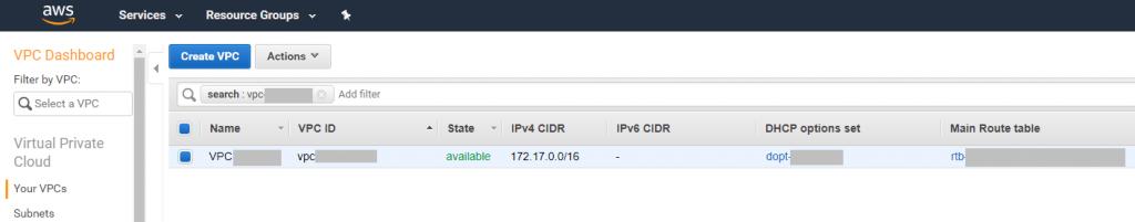 Conexión entre VPC de Amazon y Red On-Premises | Seguridad